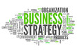 "Word Cloud ""Business Strategy"""