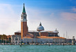 Bell tower of St Mark's Basilica in Venice, Italy...