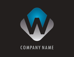 W business logo