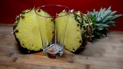 Ananas glas