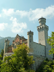 Neuschwanstein Castle near Fussen - Germany