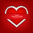 Gift card  Valentine s Day  Vector background