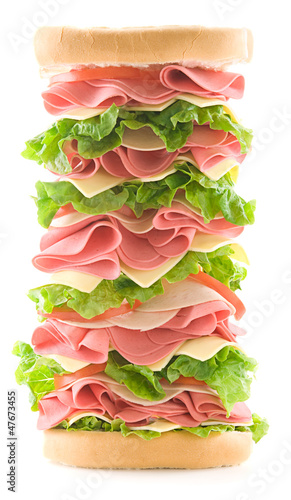 Big ham sandwich