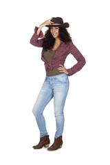 Adult Sexy Woman on Jeans