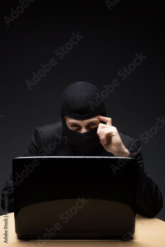 Furtive computer hacker