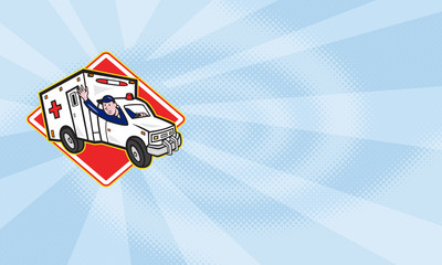 Paramedic EMT Ambulance Driver