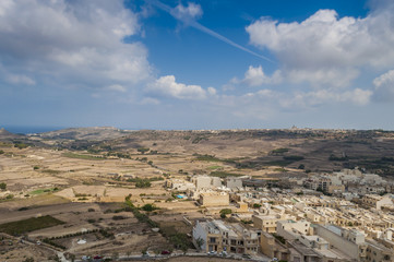 Rabat veduta cittadella Gozo Malta