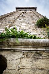 Celfry of Saint George's Parish Church in Piran, Slovenia