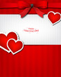 The Valentine s day  Invitation card