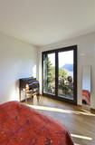 beautiful apartment, interior, bedroom