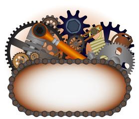 Machinery logotype