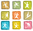 Summer and Winter Games Icon Set Number 3