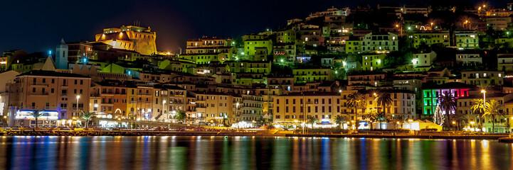 Porto Santo Stefano veduta notturna