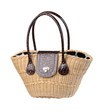 Beautiful weaved rattan handbag for your outdoor activities