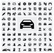 auto icons - 47691077