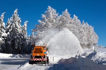 Winterdienst, Winter, Schnee, Frost, Schwarzwald,