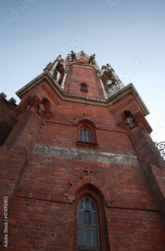 One of the towers of St Joseph's Church, Krakow
