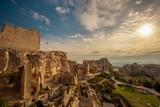 Ruins in Les Baux-de-Provence, France