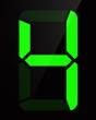 Chiffre digital - Numéro 4