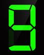 Chiffre digital - Numéro 9
