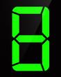 Chiffre digital - Numéro 8