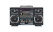 illustration of a fantastic retro ghettoblaster - 47695685