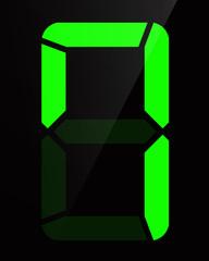 Chiffre digital - Numéro 7