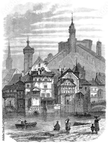 Beautiful medieval City