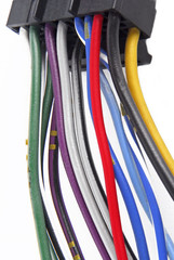 car audio system wiring cable