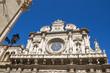 Santa Croce church, Lecce, Apulia, Italy