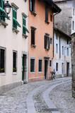Medieval Street in Cividale del Friuli poster