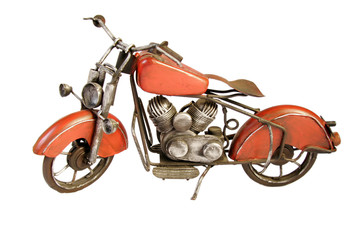 Vintage toy motorcycle