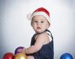blue christmas baby