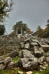 Apollon temple ancient city of Termessos