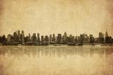 Fototapeta miasta - wieżowce - Widok Miejski