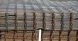 Treillis de fers à béton torsadés