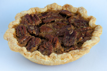 Close-up of pecan tart