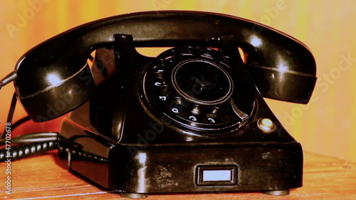 Old fashion telephone