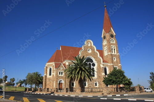 canvas print picture Christuskirche Windhoek