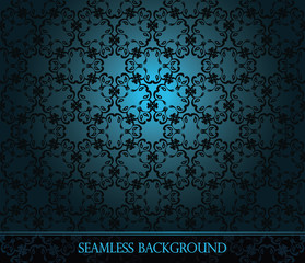 Seamless vintage background. Seamless wallpaper