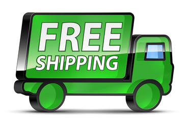Free_Shipping_Green_Truck