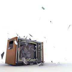 tv exploding