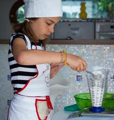 préparer un gâteau