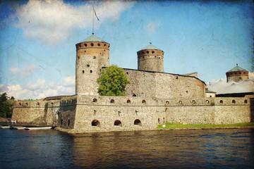 Castle Olavinlinna in Savonlinna, Finland