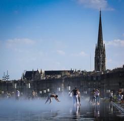 plan d'eau dans Bordeaux