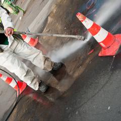 lavage des rues