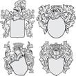 Coats of Arms Set No1 - 47718625