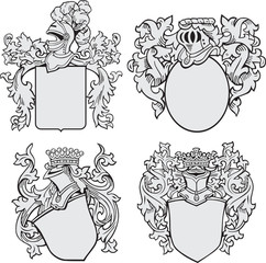 Coats of Arms Set No1