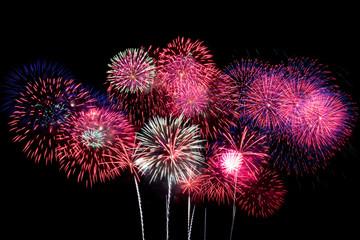 Great celebratory fireworks