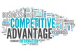 "Word Cloud ""Competitive Advantage"""